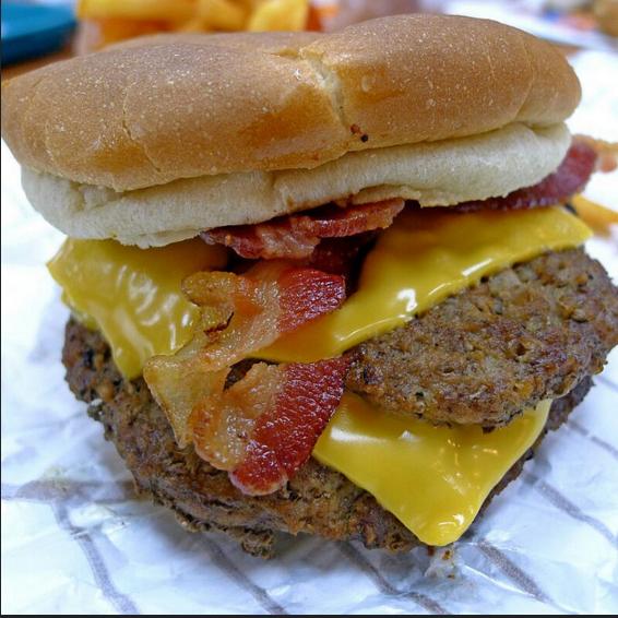 Американские рецепты - Double Bacon Cheese Burger