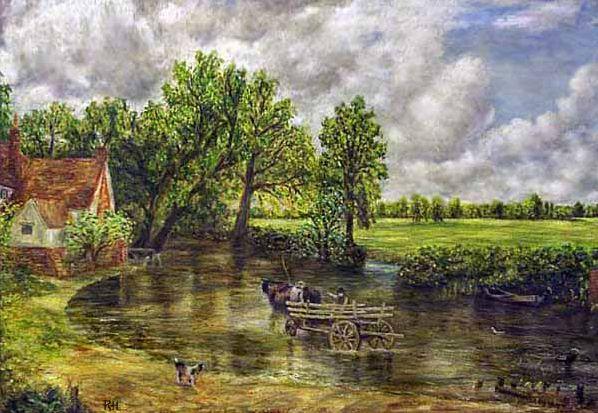 Картинная галерея на английском - Haywain