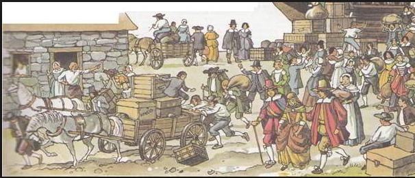 Американские рецепты, привезенные первыми поселенцами