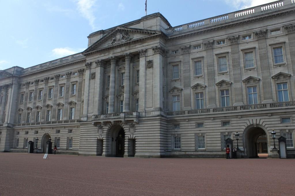 виртуальный тур по Лондону - Букингемский дворец