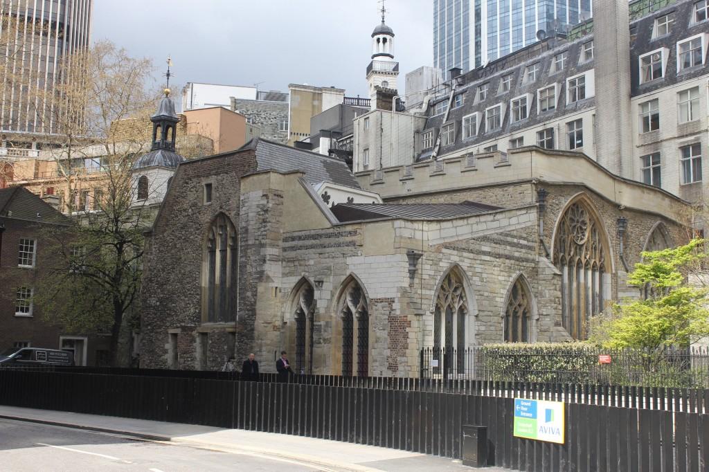 виртуальный тур по Лондону - Церковь Святой Елены