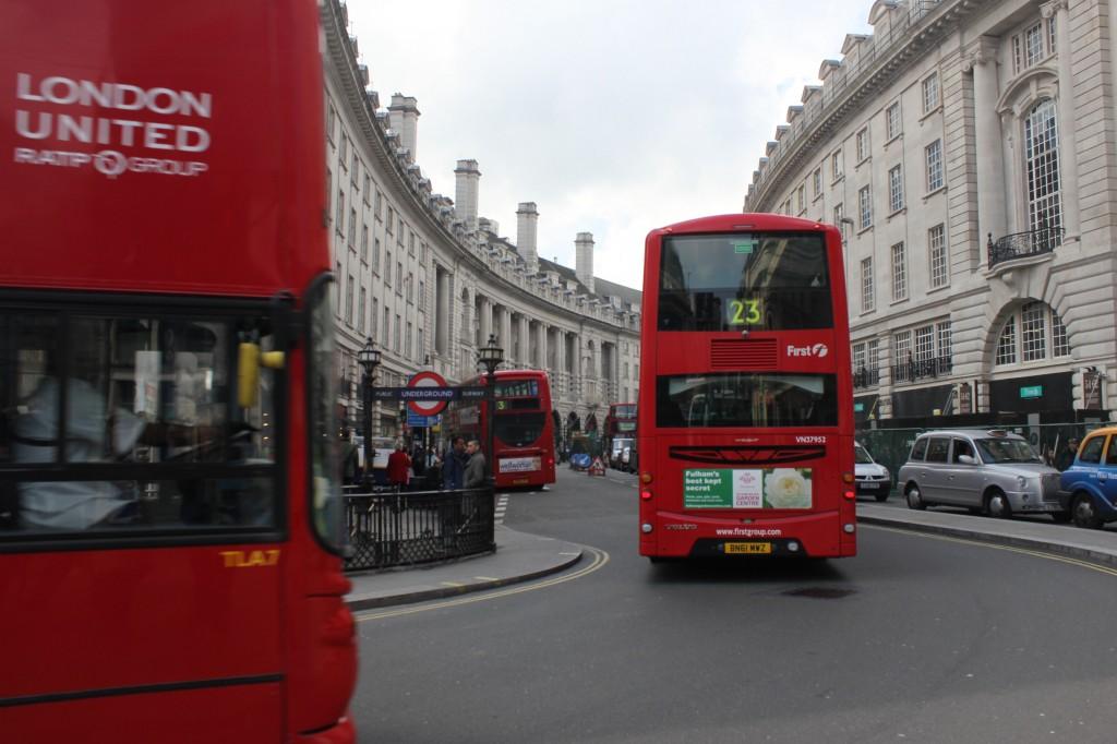 виртуальный тур по Лондону - Риджент стрит