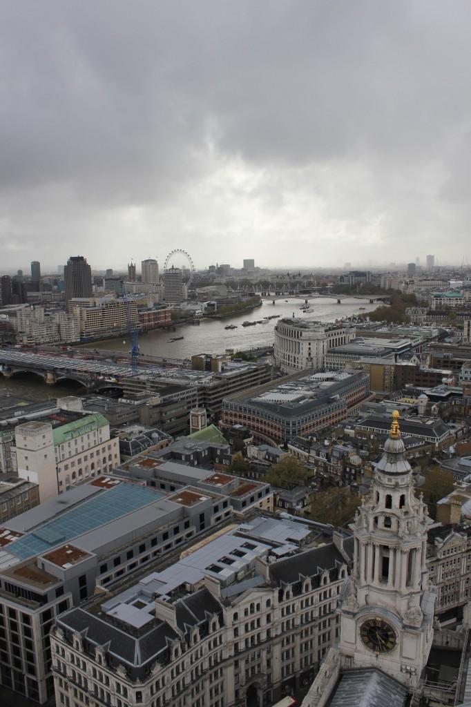 виртуальный тур по Лондону - вид с высоты Собора Святого Павла