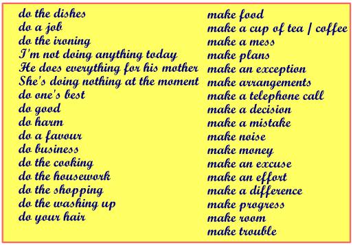 Английские словосочетания