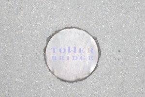 Tower bridge button