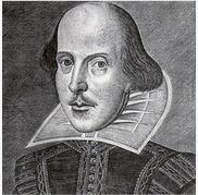 Про Шекспира на английском - портрет