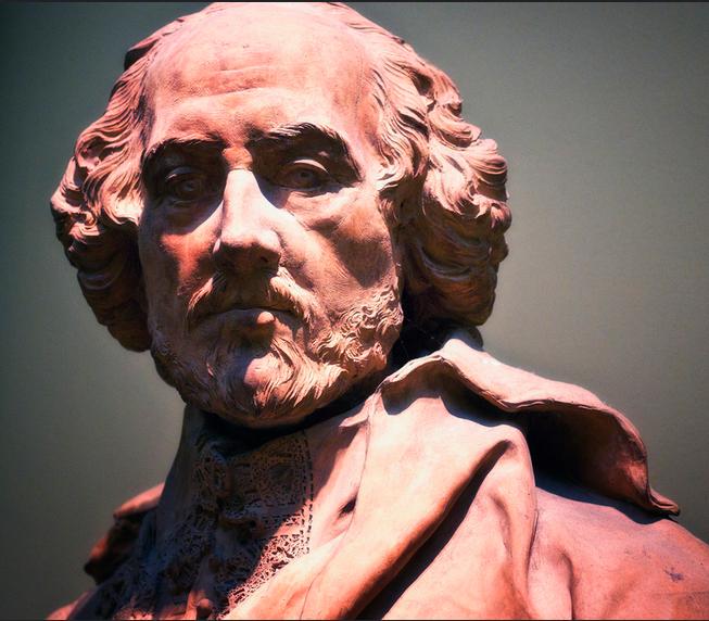 Про Шекспира на английском - бюст