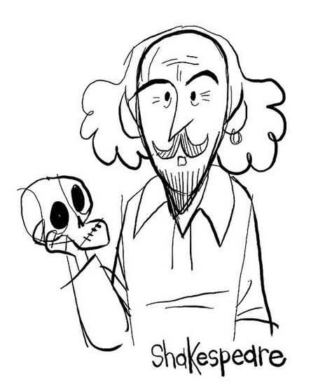 Про Шекспира на английском - Гамлет