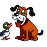 Польза иностранных языков - утка и собака