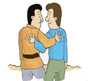 Популярные английские идиомы - scratch the back