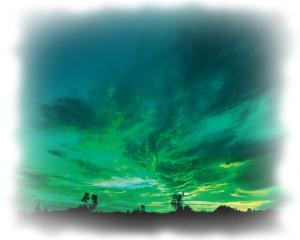 Польза иностранных языков - сине-зеленое небо