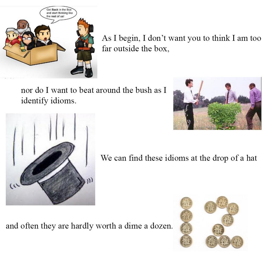Английские идиомы с переводом - часть 1