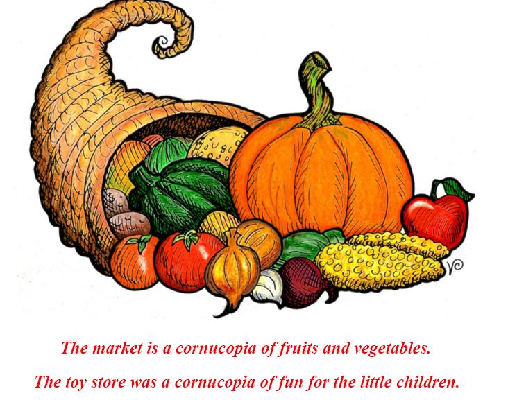 Cornucopia - символ Дня Благодарения