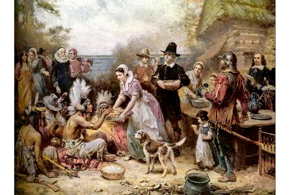 Первое празднование Дня Благодарения