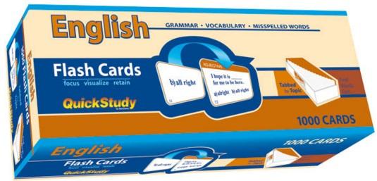 Английский в поездке - flash cards