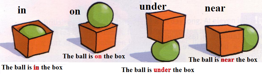 where prepositions