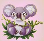 о вымирающем животном на английском - коала
