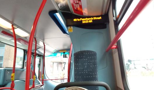 Про автобус на английском