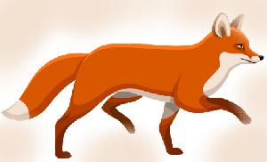 животные на английском - лиса