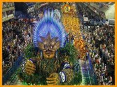 Бразилия карнавал. миниатюра