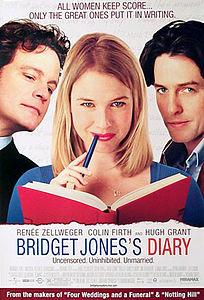 Старые английские фильмы про любовь - Bridget Jones Diary