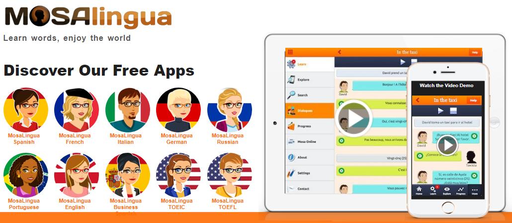 Использование приложений для изучения английского языка - MosaLingua
