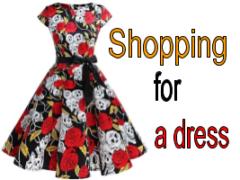Покупка платья - миниатюра