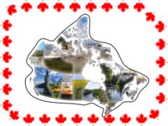 Провинции Канады миниатюра