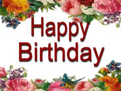 Пожелания на день рождения на английском