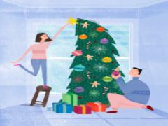 рассказ про Новый Год на английском