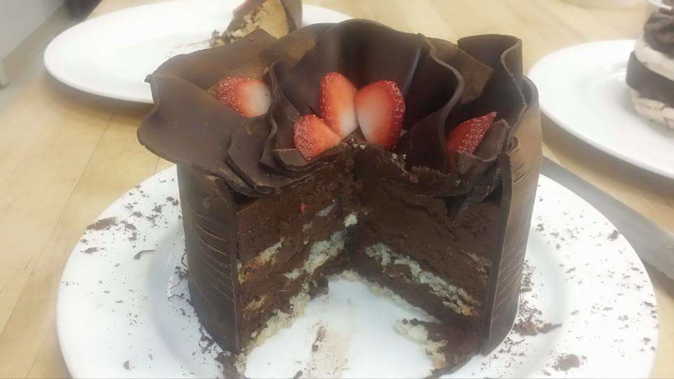 вкус еды - rich dessert