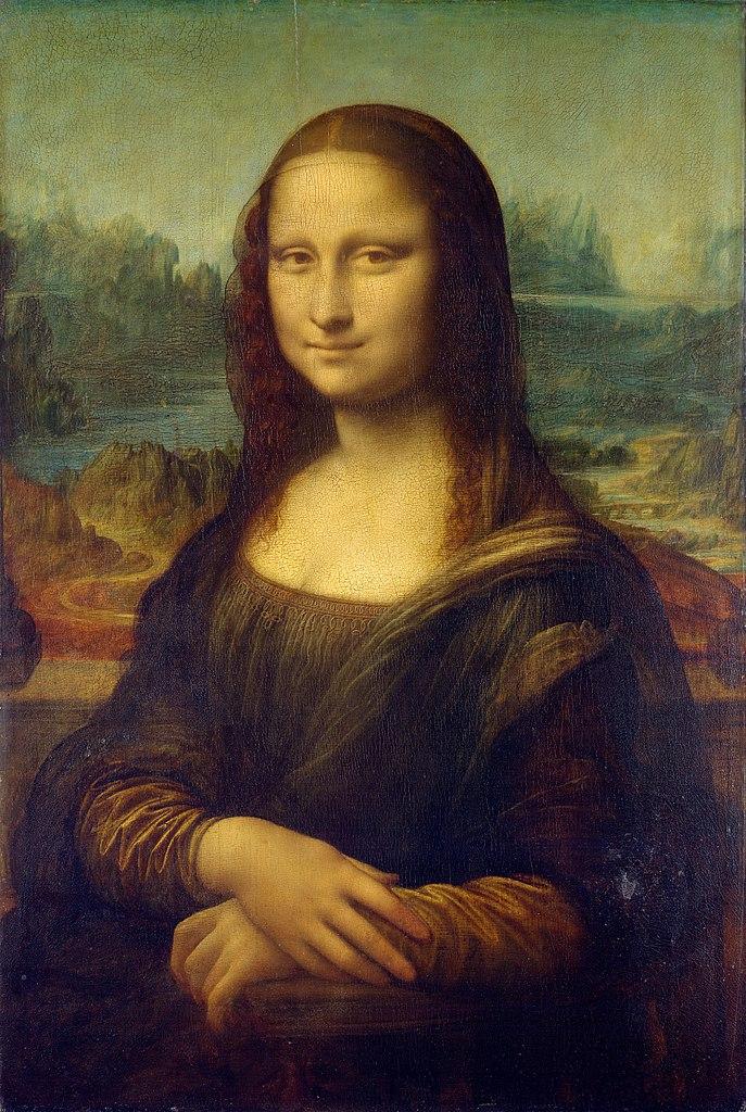 Мона Лиза на английском - детали портрета