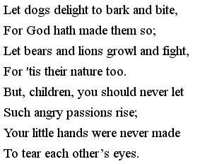 Стишки на английском для детей - Dogs