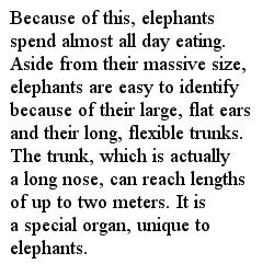 Слон текст на английском часть 2