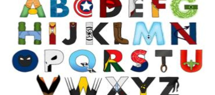 Английский алфавит - миниатюра к статье