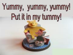 Междометия в английском - winnie the pooh