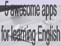 Использование приложений для изучения английского языка