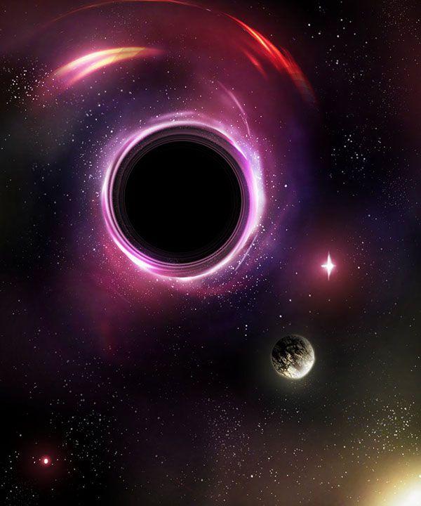 Научные статьи на английском с переводом - black hole