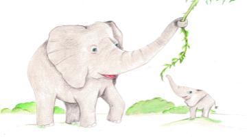 Слон - миниатюра к статье