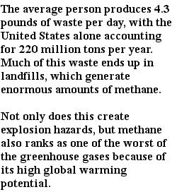 экологические проблемы - производство отходов